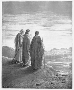 http://www.dreamstime.com/stock-photos-disciples-encounter-jesus-road-to-emmaus-picture-holy-scriptures-old-new-testaments-books-collection-image30190343